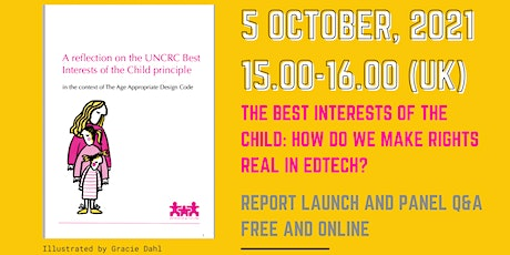 The Best Interests of the Child: Making digital rights real in UK education tickets