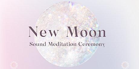 NEW MOON Sound Meditation Ceremony Tickets