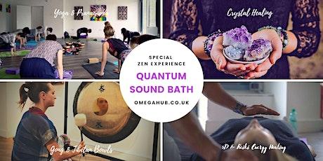 Amazing Sound bath- Gong, Tibetan  Bowls, Yoga, Crystal, Reiki & 5D healing tickets