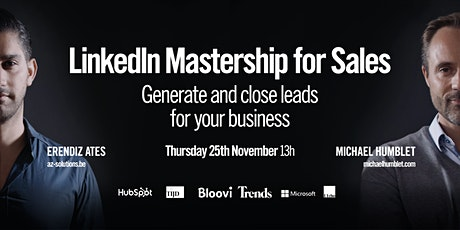 LinkedIn Mastership for Sales - Generate and close leads for your business billets