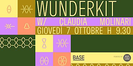 WunderKit w/ Claudia Molinari biglietti