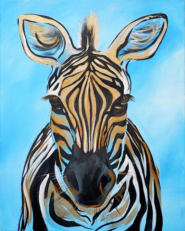 Zebra Brush Party - Tetbury image