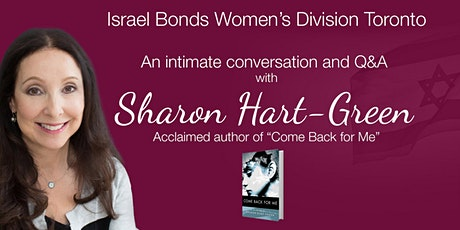 An intimate conversation and Q&A with Canadian writer Sharon Hart-Green tickets
