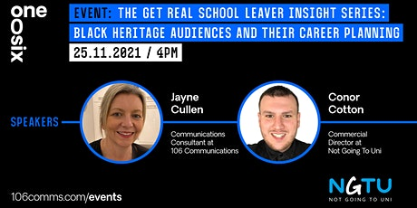 Get Real School Leaver Insight session 3 tickets