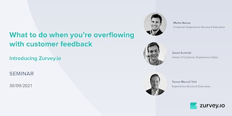 What to do when you're overflowing with customer feedback tickets