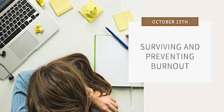 Prevent & Survive Burnout tickets