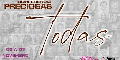 Conferência Preciosas - Todas ingressos