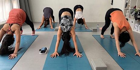 75-min Yoga for Core: Crow & Chaturanga with mini Meditation tickets
