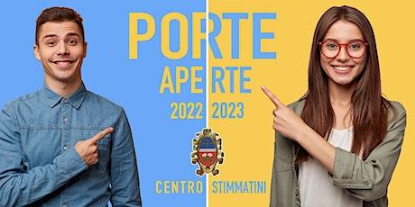 PORTE APERTE 06 NOVEMBRE 2021 biglietti