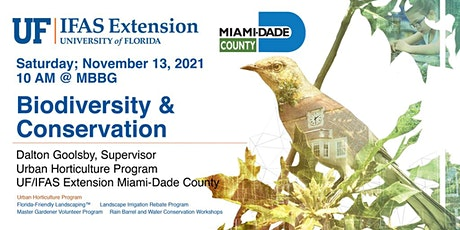 Second Saturday Seminar: Biodiversity & Conservation With UF IFAS tickets