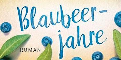 """Romanlesung: """"Blaubeerjahre"""" mit Bestsellerautorin Manuela Inusa Tickets"""