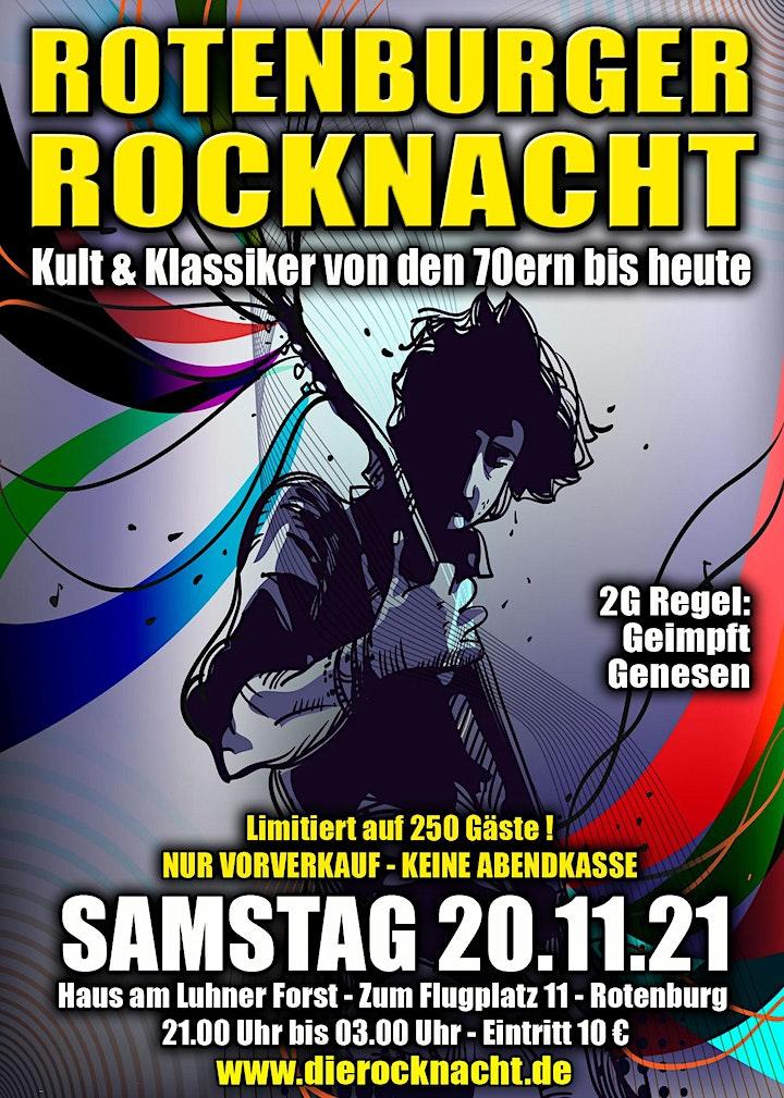 Rotenburger Rocknacht - Samstag, 20.11.2021 - 2G: Geimpft und Genesen: Bild