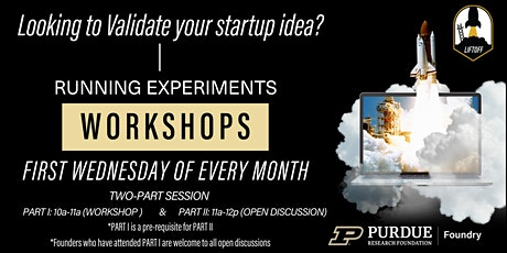 Running Experiments  Workshop tickets