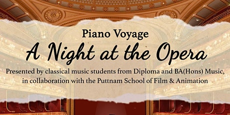 Piano Voyage VIII: A Night at the Opera tickets