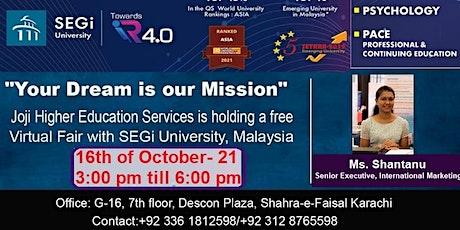 LIVE Q&A Session with SEGi University tickets