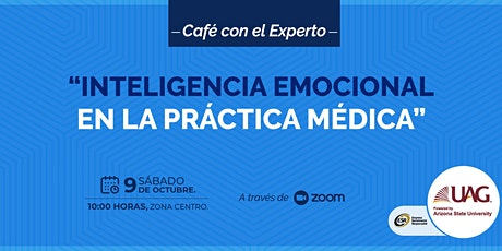 """Copia de Café con el experto """"Inteligencia emocional en la Práctica Médica"""" entradas"""