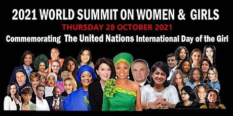 2021 WORLD SUMMIT ON WOMEN & GIRLS tickets