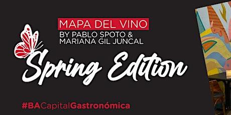 Mapa del vino, Spring Edition entradas
