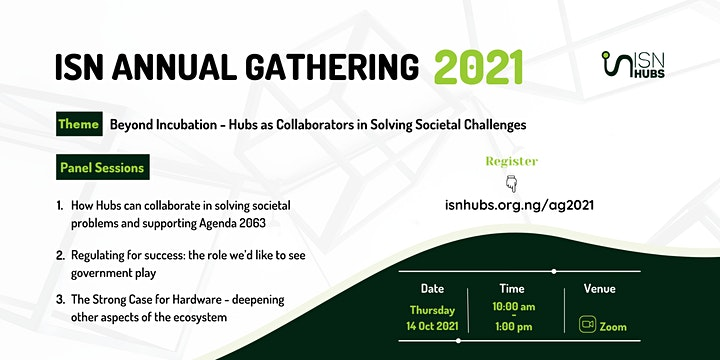 Innovation Support Network - Annual Gathering 2021 image