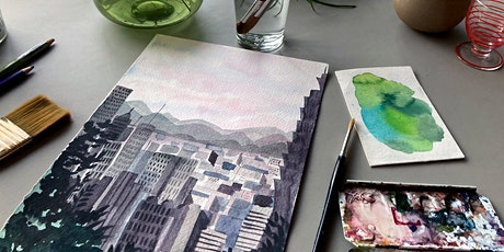 Watercolour Cityscapes : London tickets