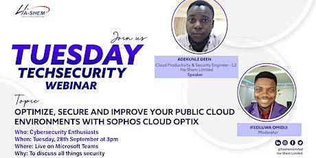 Optimize and Secure your public cloud environments with Sophos Cloud Optix tickets