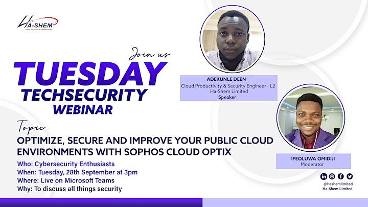Optimize and Secure your public cloud environments with Sophos Cloud Optix image