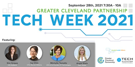 Women in Tech [Greater Cleveland Partnership Tech Week 2021] tickets