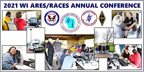2021 Wisconsin ARES/RACES Virtual State Conference entradas