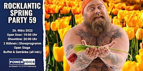 ROCKLANTIC SPRING PARTY 59 Tickets