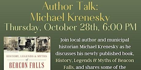 Author Talk: Michael Krenesky tickets