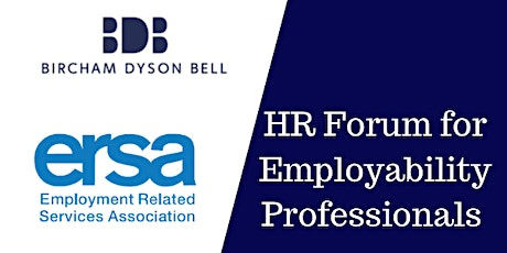 HR Forum for employment support providers - with BDB Pitmans LLP tickets
