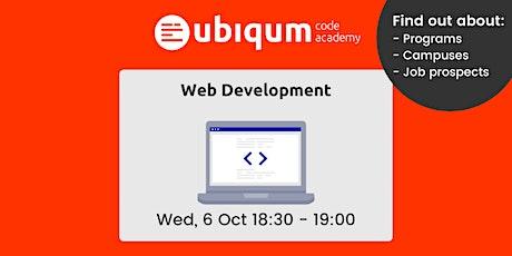 Ubiqum Web Development Info Session — October tickets