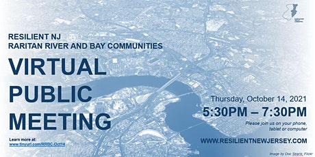 Resilient NJ - RRBC: Virtual Community Meeting #1 tickets