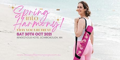 """""""Spring into Harmony"""" Yoga Retreat tickets"""