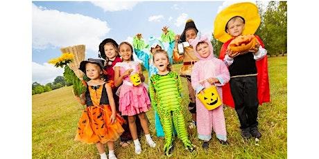 Happy Halloween!- Tiny Tot's Program, $4 per child tickets