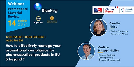Webinar - Promotional compliance for pharmaceutical products in Europe tickets
