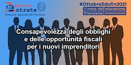 Obblighi e opportunità fiscali per nuovi imprenditori biglietti