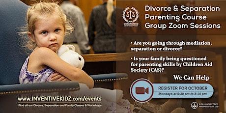 The Office Children's Lawyer  - Divorce & Separation Parenting Course (Mon) tickets