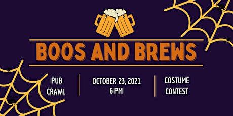 Boos and Brews Halloween Pub Crawl tickets