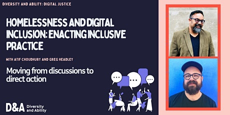 Homelessness and digital inclusion: enacting inclusive practice tickets