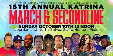 16th Annual Katrina March & Secondline tickets