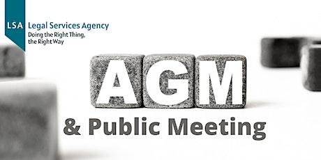 LSA AGM & Public Meeting tickets