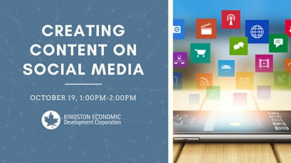 Creating Content on Social Media: Part 1 tickets