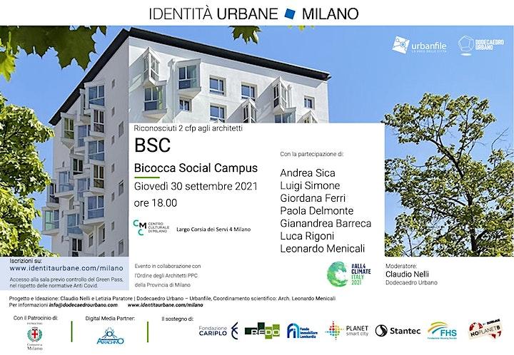 Immagine Identità Urbane Milano - BSC Bicocca