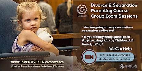 The Office Children's Lawyer - Divorce & Separation Parenting Course (Sun) tickets
