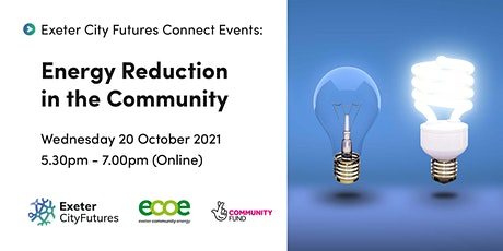Exeter City Futures Connect: Energy Reduction in the Community tickets