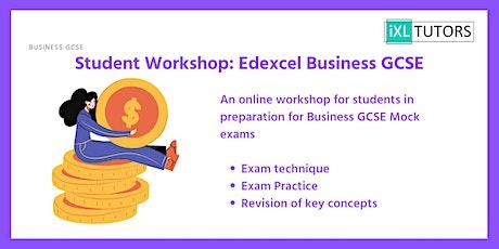 Edexcel GCSE Business Revision Workshop tickets