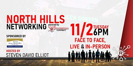 Free  North Hills Networking Rockstar Connect Event (November, NC) tickets