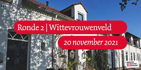 Burgerbegroting | Ronde 2 | Trefcentrum Wittevrouwenveld tickets