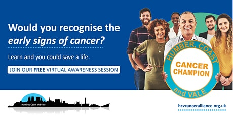 Cancer Champions Free Online Awareness Sessions tickets